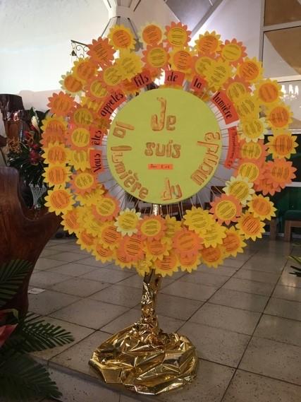 Z=DESSIN Service de catéchèse Thème de la LUMIERE