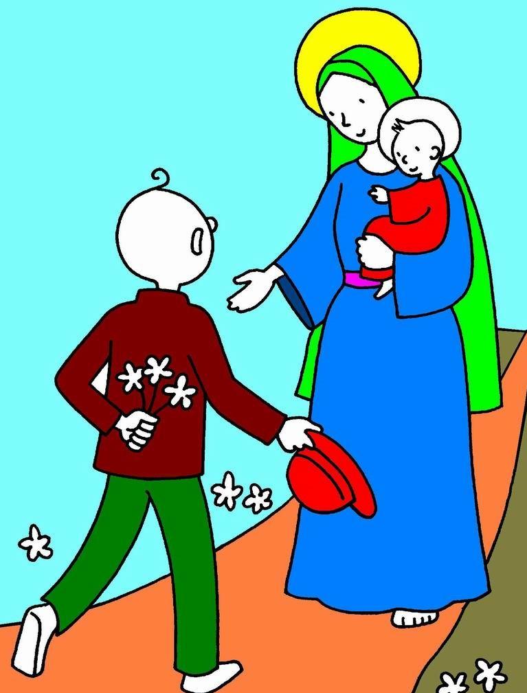 2.IMAGE MOIS DE MARIE KT Elémentaire et Maternelle