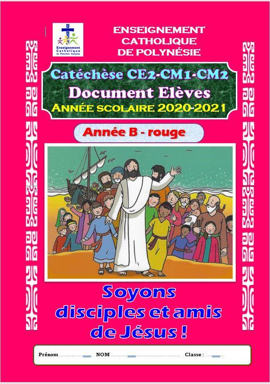 Livret de catéchèse pour CE2-CM 2020-2021
